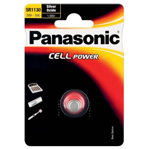 Stříbrooxidová baterie 82 Panasonic Cell Power SR1130 (1ks v blistru)