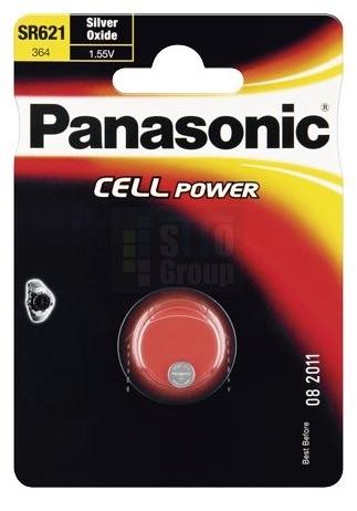 Stříbrooxidová baterie 23 Panasonic Cell Power SR621 (1ks v blistru)
