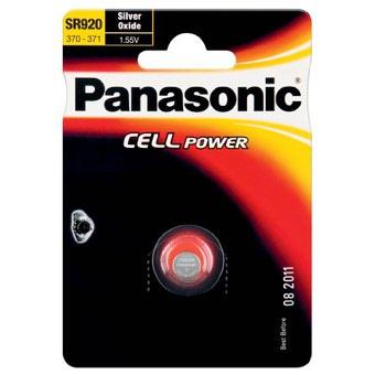 Stříbrooxidová baterie 45 Panasonic Cell Power SR920 (1ks v blistru)