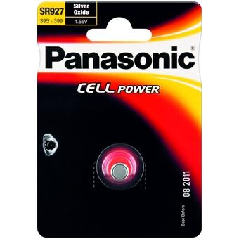 Stříbrooxidová baterie 55 Panasonic Cell Power SR927 (1ks v blistru) (SR-927EL/1B)