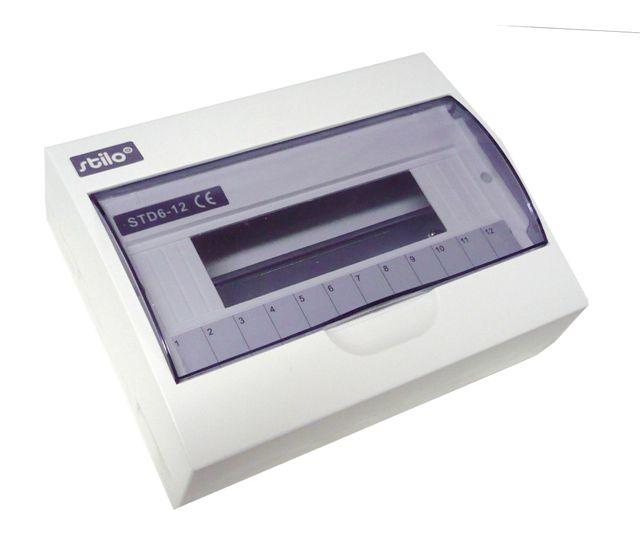 Rozvodnice STI615-12 (12 modulů) na omítku