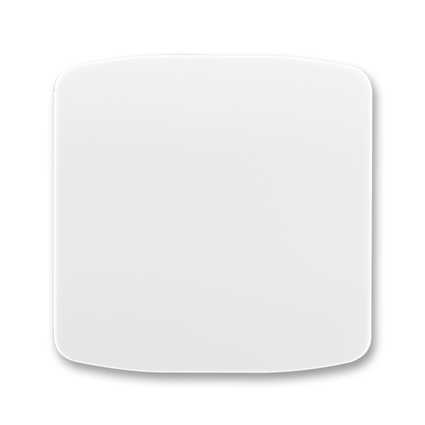 Kryt stmívače s krátkocestným ovladačem TANGO Bílá (ABB 3299A-A100 B)