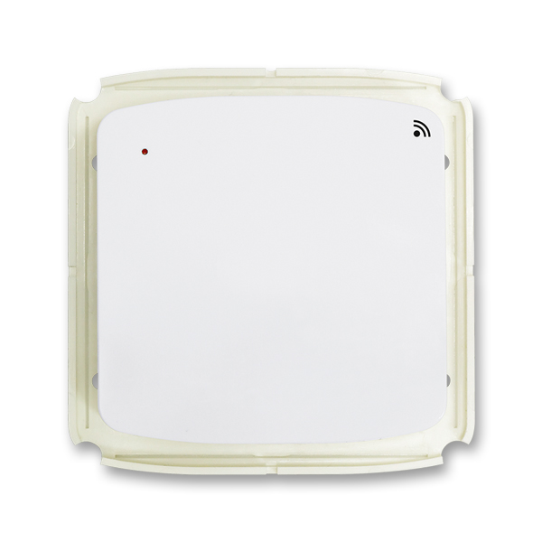 Vysílač RF s krátkocestným ovladačem, nástěnný TANGO Bílá (ABB 3299A-A11908 B)