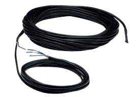 Topný kabel s jednostranným napájením DIC 30/L16
