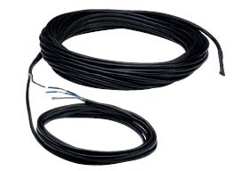 Topný kabel s jednostranným napájením DIC 30/L20