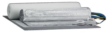 Podlahový temperační systém TBA TC 50 Set 100/4 PL