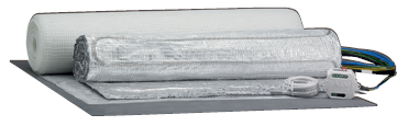 Podlahový temperační systém TBA TC 50 Set 100/8 PL