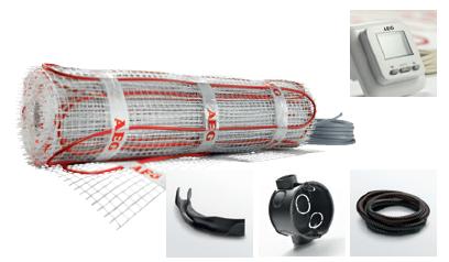 Podlahový temperační systém HMA 150 W/m2 SET - HMA TE 50 Set 150/5