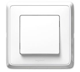 Spínač Cariva IP44 (řazení č.1) - bílá