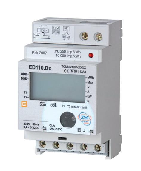 Elektroměr EDIN 110.D0