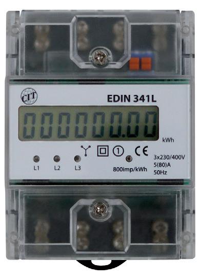 Elektroměr EDIN 341L