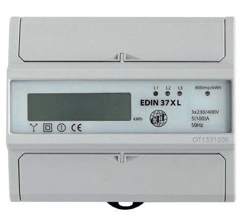 Elektroměr EDIN 37xL