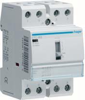 Relé ETC463, 4 spínací kontakty, 63A, 230V AC