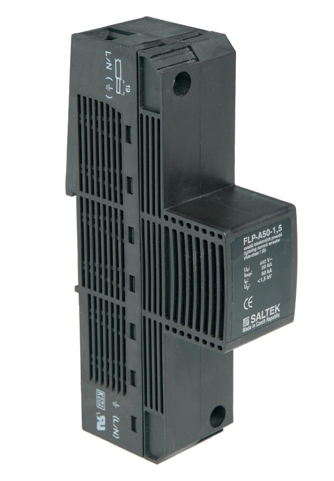 Svodič bleskových proudů FLP-A50-1,5