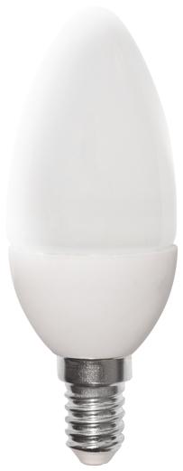 LED žárovka CANDLE E14 (21 LED)