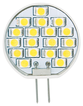 LED žárovka SMD 2835 G4 (18 LED)