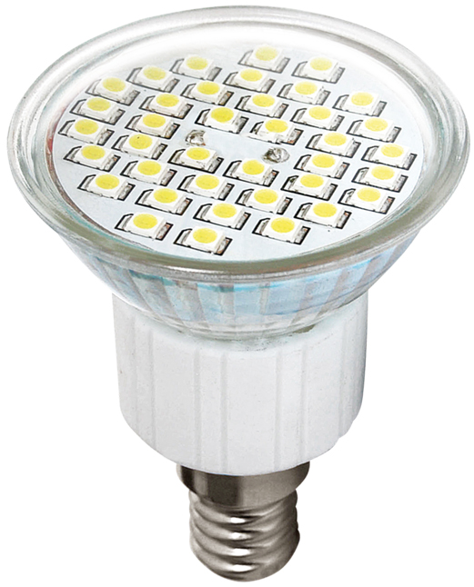 LED žárovka SMD 2835 E14 (38 LED)