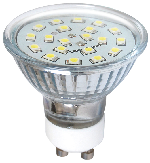 LED žárovka SMD 2835 GU10 (20 LED)