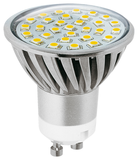 LED žárovka SMD 2835 GU10 (30 LED)