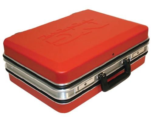 Kufr na nářadí Budget ABS - červený