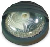 Svítidlo LUNA GRILL (černá) - matné sklo
