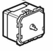 Ovládání ventilátoru Céliane s regulátorem otáček (40 - 400 W)