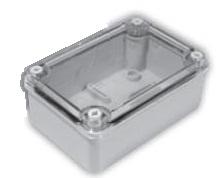 Instalační krabice S-box 216 bez vývodek s průhledným krytem