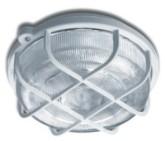 Svítidlo KRUH (bílá) - matné sklo