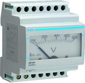 Voltmetr analogový SM500