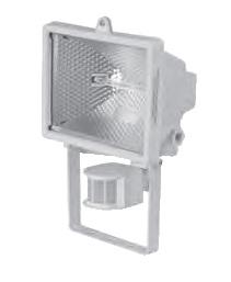 Reflektor VANA 500W se senzorem (bílá)